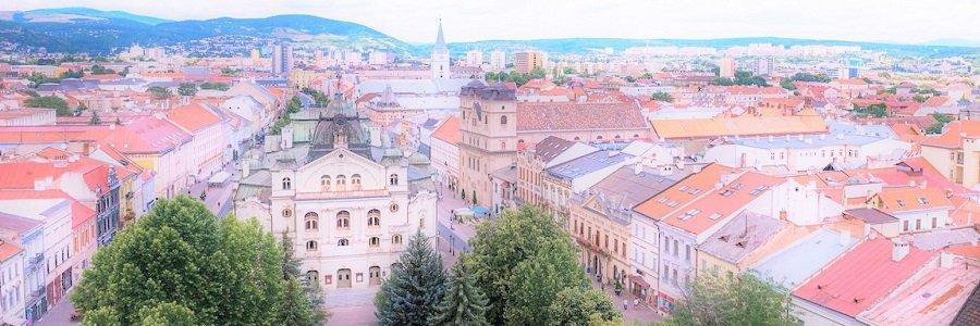 Kaderníčka v Košiciach, Košice, metropola východu